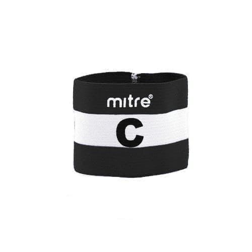 Mitre CAPTAIN ARMBAND Капитанская повязка Черный/Белый - фото 141941