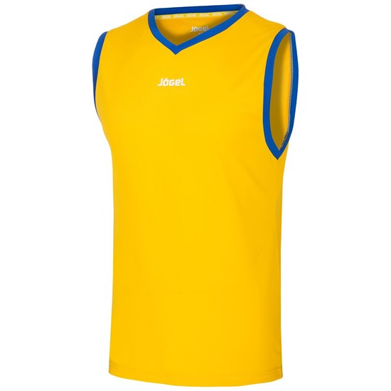 Jogel JBT-1020 Майка баскетбольная Желтый/Синий - фото 142048