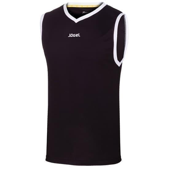 Jogel JBT-1020 Майка баскетбольная Черный/Белый - фото 142051