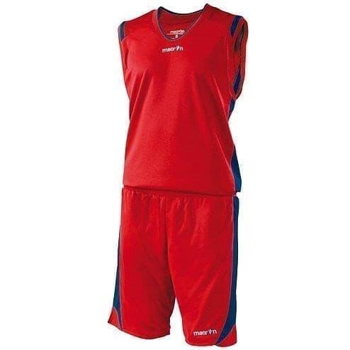 Macron BERKELEY Форма баскетбольная Красный/Темно-синий - фото 142081