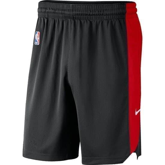 Nike CHICAGO BULLS SHORTS PRACTICE 18 Шорты баскетбольные Черный/Красный - фото 142129