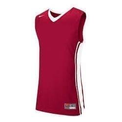 Nike NATIONAL VARSITY JERSEY  Майка баскетбольная Красный/Белый - фото 142176