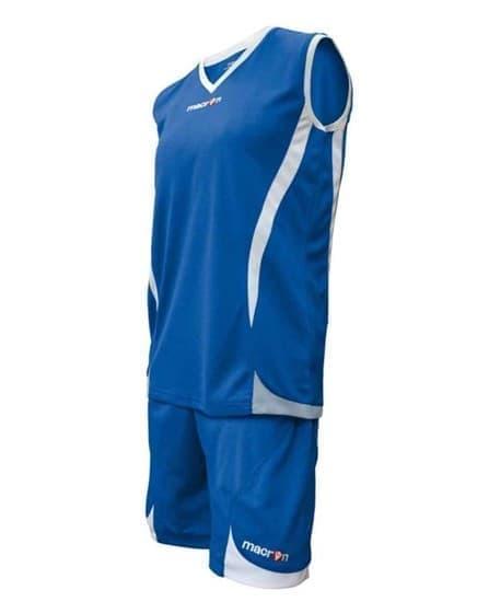 Macron RAJA Форма баскетбольная Синий/Белый - фото 142178