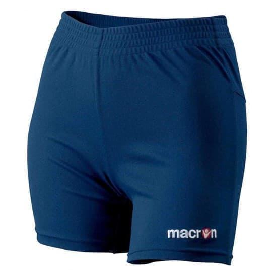 Macron ALBA SHORT Шорты волейбольные женские Темно-синий - фото 142280