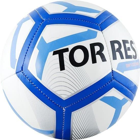 Torres BM1000 MINI (F31971) Мяч футбольный сувенирный - фото 142322