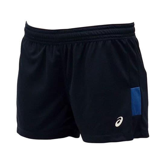 Asics SHORT (W) Шорты игровые волейбольные женские Темно-синий/Синий - фото 142337