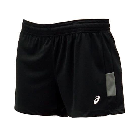 Asics SHORT (W) Шорты игровые волейбольные женские Черный/Серый - фото 142339