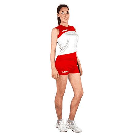 Legea ROMAGNA Форма волейбольная Красный/Белый - фото 142348