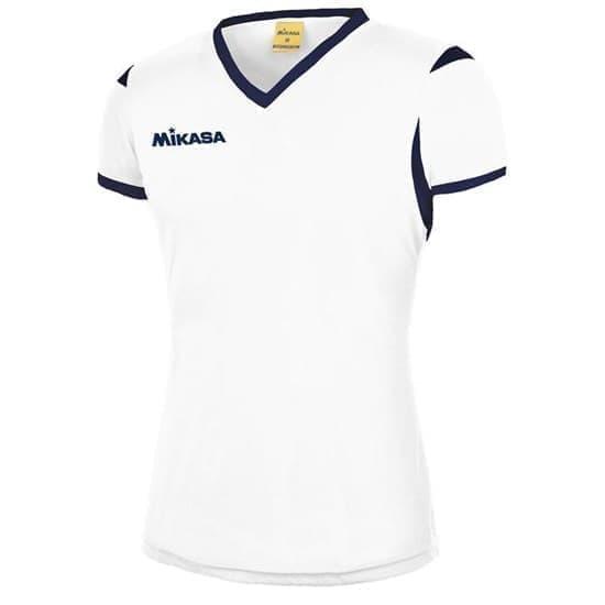 Mikasa NENE Футболка волейбольная женская Белый/Синий - фото 142391