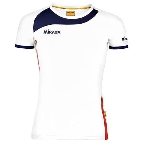 Mikasa KIORA Футболка волейбольная Белый/Темно-Синий/Красный - фото 142424