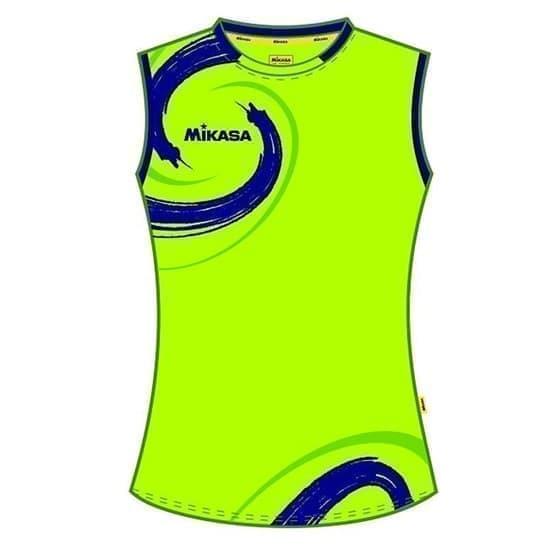 Mikasa TAGUN Майка волейбольная женская Зеленый/Синий - фото 142453