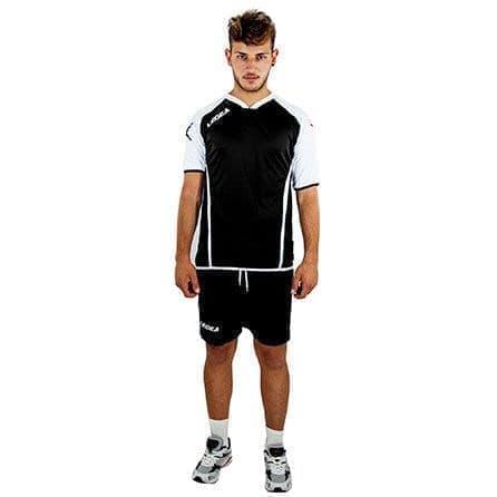 Legea VILNIUS Форма волейбольная Черный/Белый - фото 142466