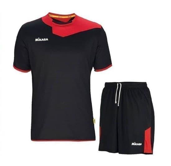 Mikasa ODAKE Форма волейбольная Черный/Красный - фото 142488