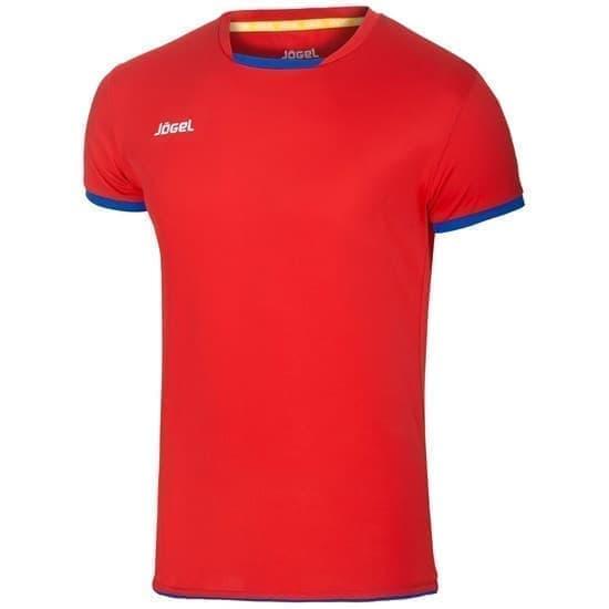 Jogel JVT-1030-027 Футболка волейбольная Красный/Синий - фото 142549