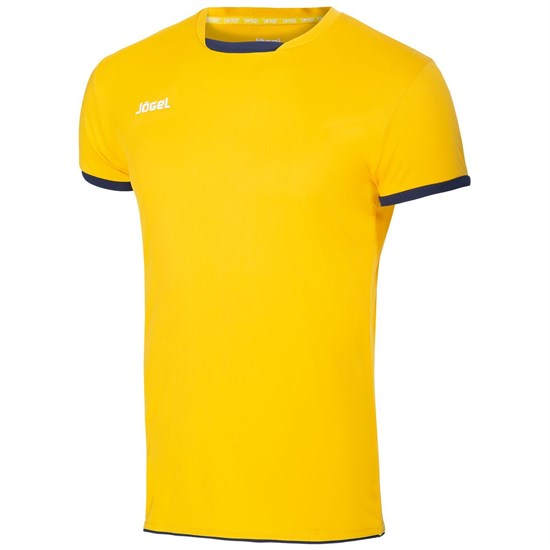 Jogel JVT-1030-049 Футболка волейбольная Желтый/Темно-синий - фото 142552