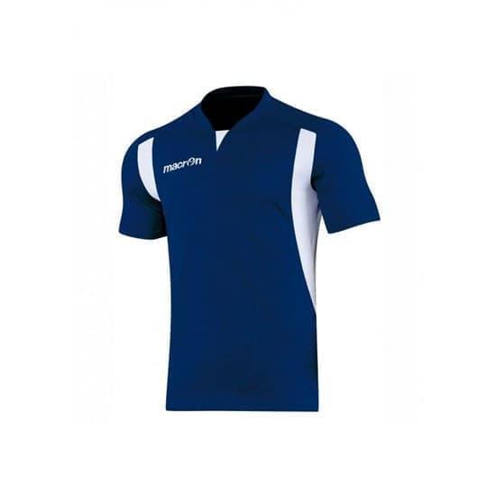 Macron HELIUM SHIRT Футболка волейбольная Темно-синий/Белый - фото 142681
