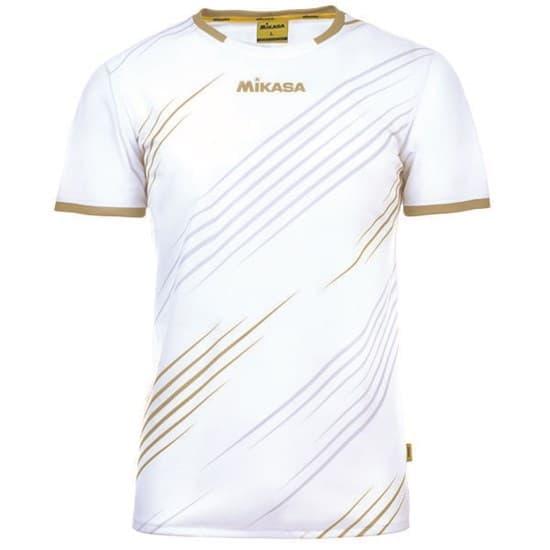 Mikasa BANDA Футболка волейбольная Белый/Золотой - фото 142767
