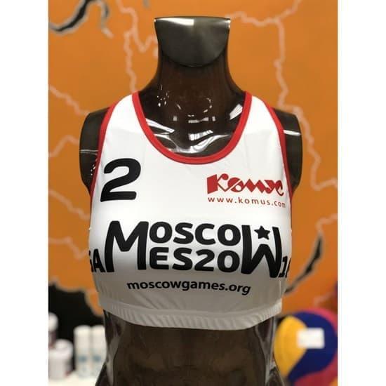 Kinash MOSCOW GAMES 2018 Топ для пляжного волейбола #2 - фото 143272
