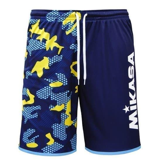 Mikasa MT5040 Шорты для пляжного волейбола Темно-синий - фото 143351
