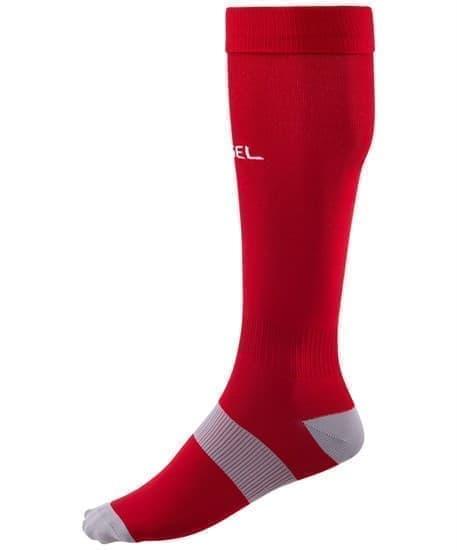 Jogel ESSENTIAL JA-006 Гетры футбольные Красный/Серый - фото 144928