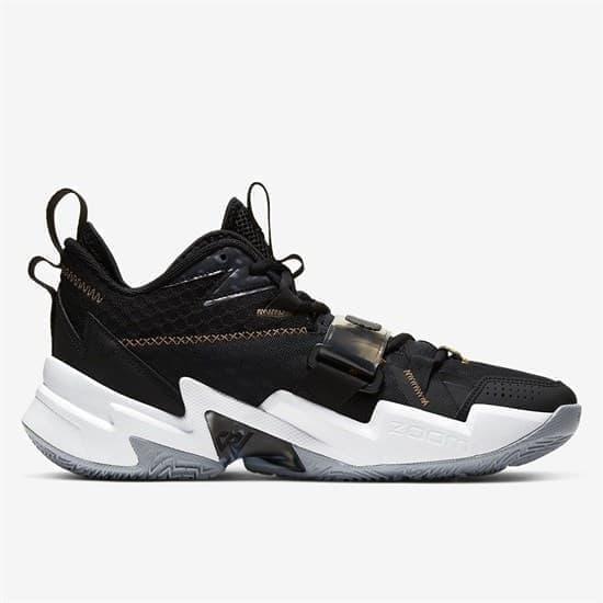 """Nike AIR JORDAN """"WHY NOT?"""" ZER0.3 Кроссовки баскетбольные Черный/Белый - фото 146514"""