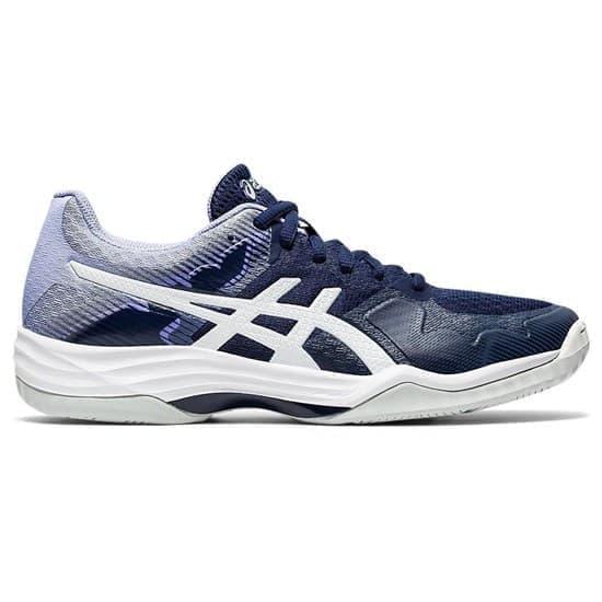 Asics GEL-TACTIC 2 (W) Кроссовки волейбольные женские Темно-синий/Белый - фото 147486