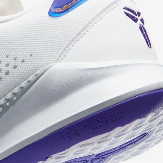 Nike MAMBA FURY Кроссовки баскетбольные Белый/Фиолетовый - фото 147887