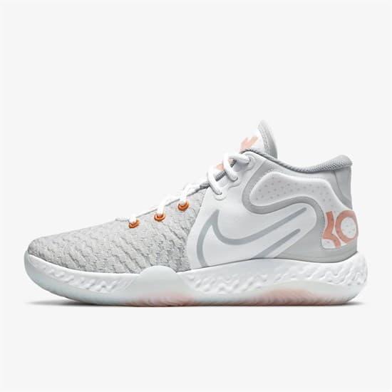 Nike KD TREY 5 VIII Кроссовки баскетбольные Серый/Оранжевый - фото 148117