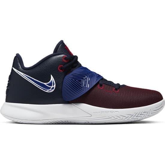 Nike KYRIE FLYTRAP III Кроссовки баскетбольные Темно-синий/Красный - фото 148193