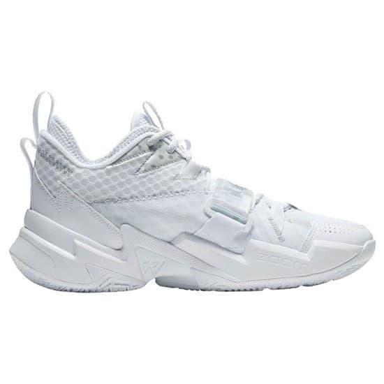 Jordan WHY NOT? ZER0.3 Кроссовки баскетбольные Белый/Серый - фото 148658