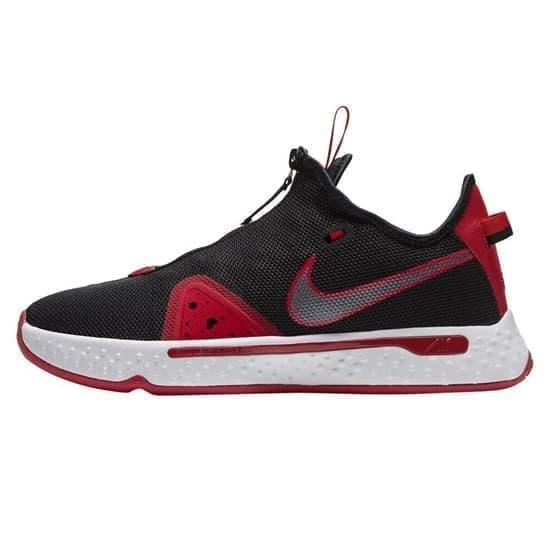 Nike PG 4 Кроссовки баскетбольные Черный/Красный - фото 148659