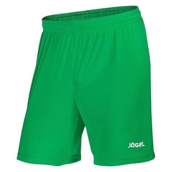 Jogel JFS-1110-031 Шорты футбольные детские Зеленый/Белый - фото 148857