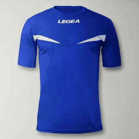 Legea PRISTINA MC F35 Футболка Синий/Белый - фото 149202