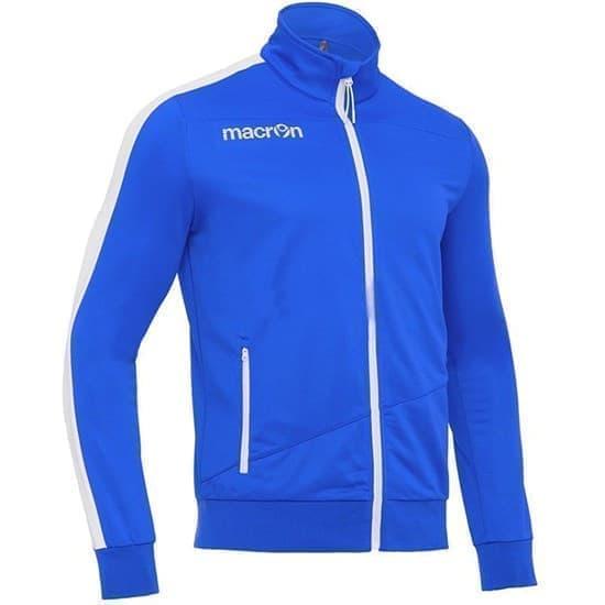 Macron OPI Куртка спортивная Синий/Белый - фото 149926