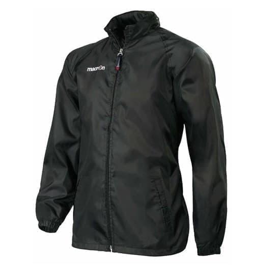 Macron ATLANTIC ANTIVENTO Куртка ветрозащитная Черный/Белый - фото 150136