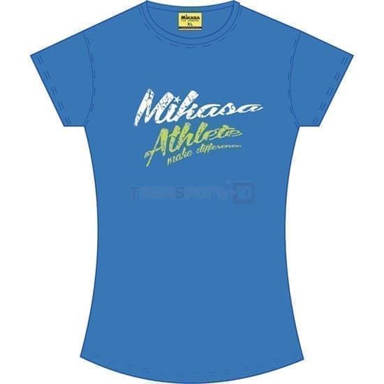 Mikasa MICHI Футболка волейбольная женская Синий - фото 150920