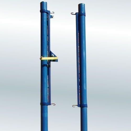 RUSBRAND 1.40 Стойки волейбольные универсальные со стаканами и крышками (пара) - фото 151023