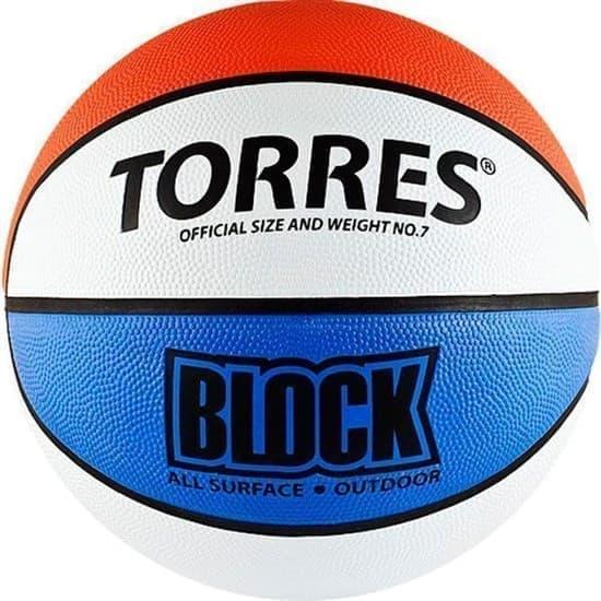 Torres BLOCK (B00077) Мяч баскетбольный - фото 151234