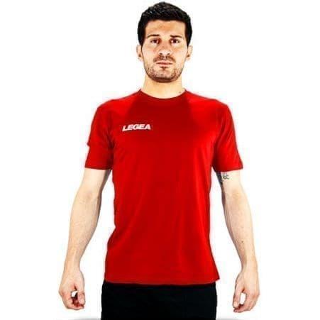 Legea BASIC 1 Футболка Красный - фото 151289