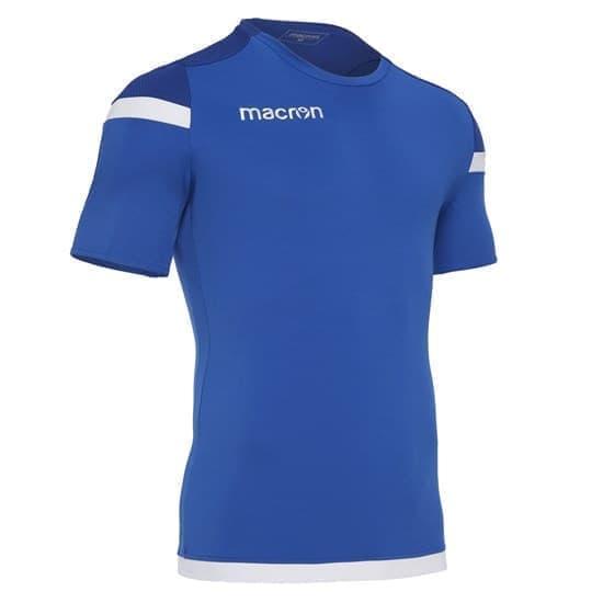 Macron TITAN Футболка Синий/Белый - фото 151781