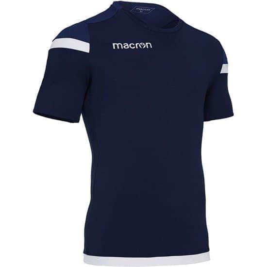 Macron TITAN Футболка Темно-синий/Белый - фото 151819