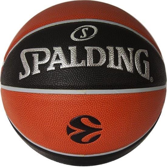 Spalding TF-1000 LEGACY EUROLEAGUE OFFICAL BALL Мяч баскетбольный Коричневый/Черный/Серебристый - фото 151874