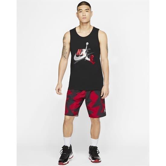 Nike JUMPMAN CLASSIC Майка баскетбольная Черный/Белый - фото 152141