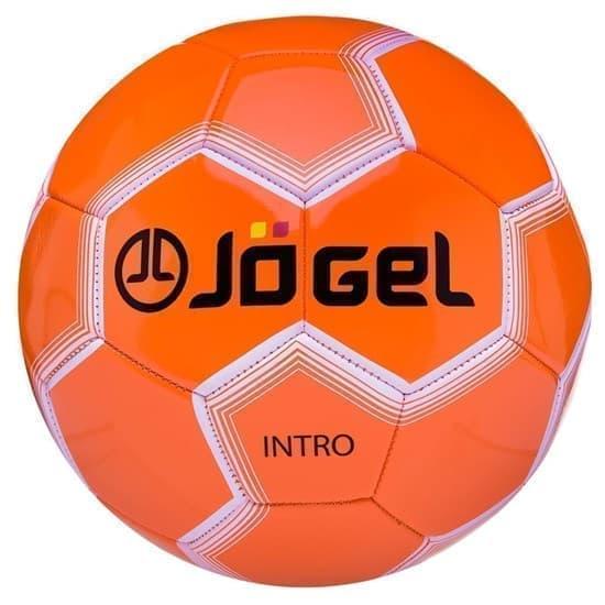 Jogel JS-100-5 INTRO Мяч футбольный Оранжевый - фото 152385