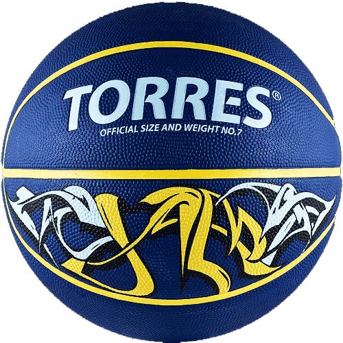 Torres JAM (B00043) Мяч баскетбольный - фото 152531