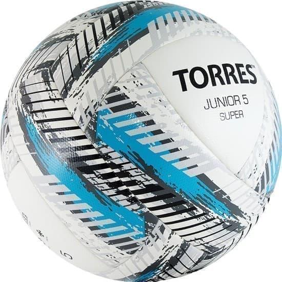 Torres JUNIOR-5 SUPER (F319205) Мяч футбольный - фото 152720