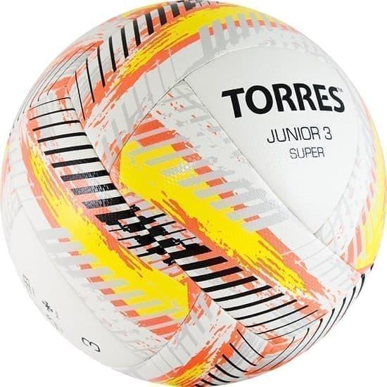 Torres JUNIOR-3 SUPER (F319203) Мяч футбольный - фото 152726