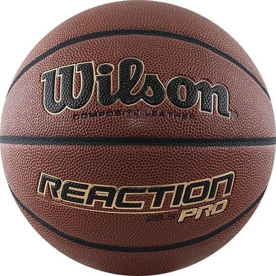 Wilson REACTION PRO (WTB10138XB06) Мяч баскетбольный - фото 152772