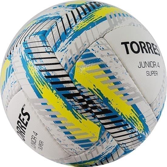 Torres JUNIOR-4 SUPER HS (F320304) Мяч футбольный - фото 152777