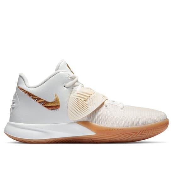 Nike KYRIE FLYTRAP III Кроссовки баскетбольные Белый/Золотой - фото 153000